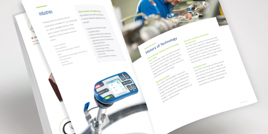 VPInstruments new corporate brochure